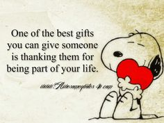 Snoopy and Grief