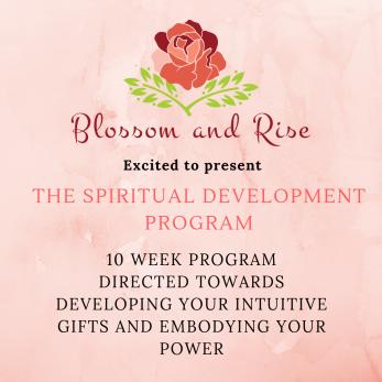 Spiritual Development Program Flyer