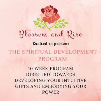 Spiritual Development Program Flyer